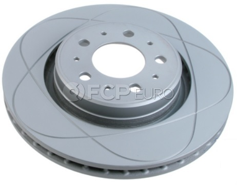 """Volvo Brake Disc Slotted 11.89"""" - ATE 31262095"""