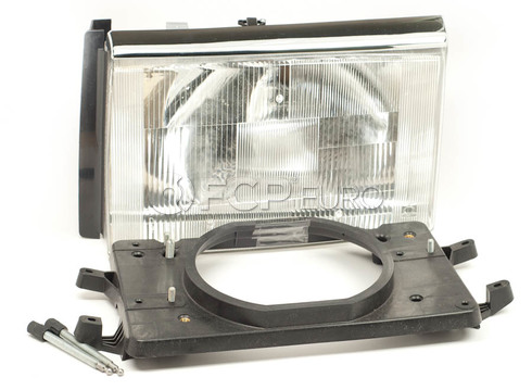 Volvo Headlight Assembly Left (240 244 245) - Pro Parts 1372106