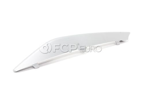 BMW Finisher Rod Right (Alu Matt) - Genuine BMW 51117229182