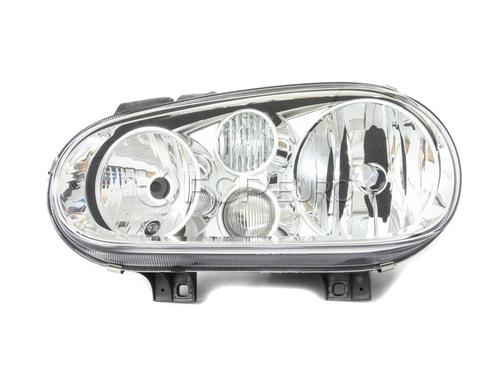 VW Headlight Assembly Left (Cabrio Jetta) - Hella 1J0941017E