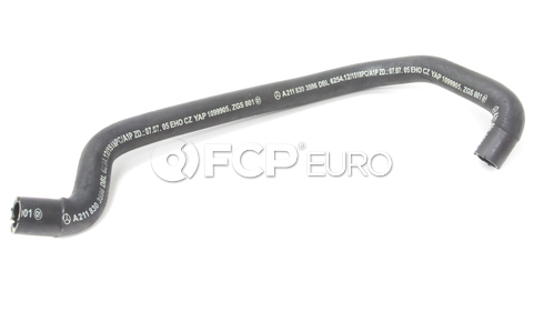 Mercedes Engine Coolant Hose - Genuine Mercedes 2118303596