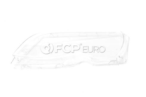 BMW Headlight Lens Left (E46) - Magneti Marelli 63126924045