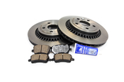 Volvo Brake Kit - Brembo/Textar KIT-P3XC60KT2P5