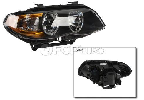 BMW Headlight Assembly Right (Bi-Xenon: White) - Hella 63117166806