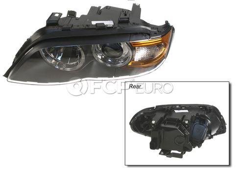 BMW Headlight Assembly Left (Bi-Xenon: White) - Hella 63117166805