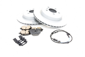 BMW Brake Kit - Zimmermann/Akebono 34216775287KTR1