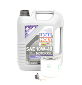 Volvo Oil Change Kit 10W-40 - Liqui Moly KIT-523528