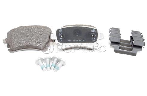 Audi VW Brake Pad Set - Genuine Audi VW 4B3698451A
