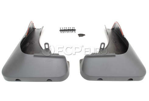 "BMW Set Mud Flaps Front (E70 18""+19"") - Genuine BMW 82160416160"
