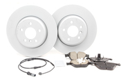 BMW Brake Kit - Zimmermann/Akebono 34116775277KTF1