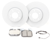 BMW Brake Kit - Zimmermann/Textar 34116792223KTF1