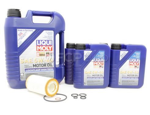 Mercedes Oil Change Kit (5W-40) - Liqui Moly MLOILCHANGEKIT