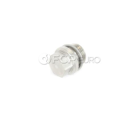 BMW Screw Plug With Gasket Ring (M18X15) - Genuine BMW 11621437517