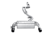 BMW Evolution Stainless Steel Performance Exhaust With Link Pipe Set - Akrapovic MTP-BM/SS/1H-L