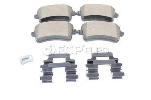 Audi Disc Brake Pad Rear (Q5) - Genuine VW Audi 8K0698451E