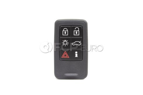 Volvo Remote Control Transmitter for Keyless Entry and Alarm System (S80 V70 XC70 XC60 S60) - Genuine Volvo 31419131
