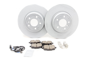 BMW Brake Kit - Zimmermann/Akebono 34216775289KTR1