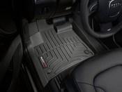 Audi Floor Mat Liner Set Black - WeatherTech 441511
