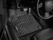 Audi Floor Mat Liner Set Black - WeatherTech 442181