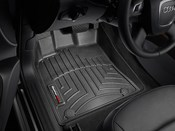 Audi Floor Mat Liner Set Black - WeatherTech 442301