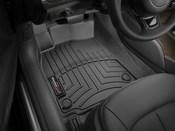 Audi Floor Mat Liner Set Black - WeatherTech 445641
