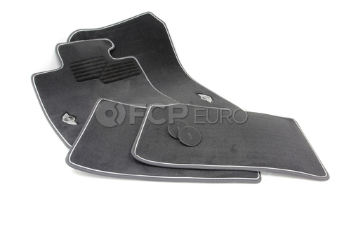 Mini Anthracite Floor Mat Set - Genuine Mini 51472211082