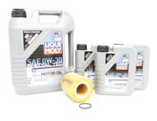 Volvo Oil Change Kit 0W-30  -Liqui Moly KIT-522282