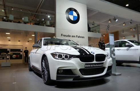 BMW M-Performance Front Splitter (Black Matt) - Genuine BMW 51192291364