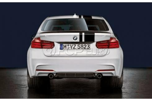 BMW M-Performance Rear Diffuser (Black Matt) - Genuine BMW 51192291414