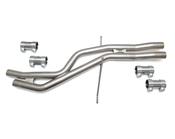 Audi VW Resonator Delete Kit 034Motorsport - 0341057040