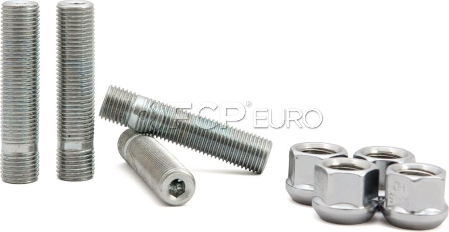 "Audi VW Wheel Stud & Nut Kit Ball Seat (2.50"") - 034Motorsport 0346046001"