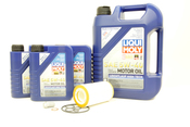 Mercedes Oil Change Kit 5W-40 - Liqui Moly 0001802609.8L