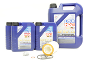 Mercedes Oil Change Kit 5W-40 - Liqui Moly 0001802609.9L