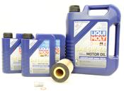 Mercedes Oil Change Kit 5W-40 - Liqui Moly 0001802809.8L