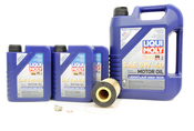 Mercedes Oil Change Kit 5W-40 - Liqui Moly 0001803009.9L