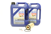 Mercedes Oil Change Kit 5W-40 - Liqui Moly 2781800009.10L