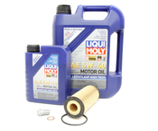 Mercedes Oil Change Kit 5W-40 - Liqui Moly 2781800009.6L