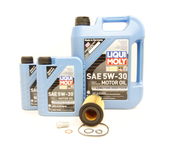 Mercedes Diesel Oil Change Kit 5W-30 - Liqui Moly 6511800109.7L
