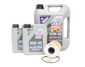 BMW Oil Change Kit 10W-40 - Liqui Moly 11421730389KT.LM