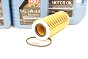 BMW Diesel Oil Change Kit 5W-30 - Liqui Moly 11427788460KT.LM