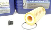 Audi Oil Change Kit 5W-40 - Liqui Moly KIT-06K115562.2