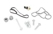 BMW Engine Oil Filter Housing Gasket Kit - 11428637821KT2