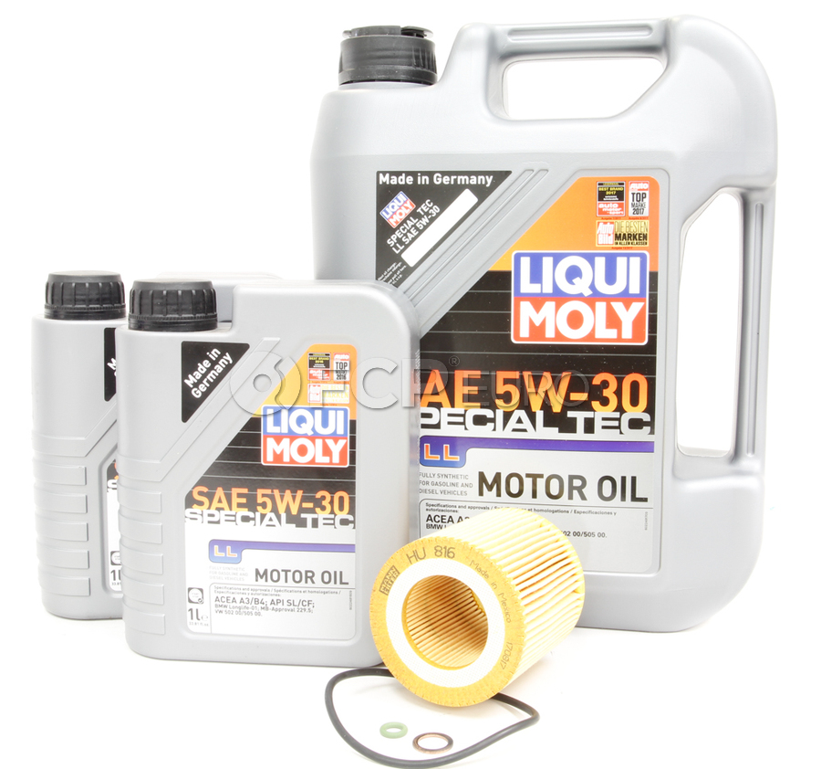 BMW Oil Change Kit 5W-30 - Liqui Moly 11427566327KT.LM