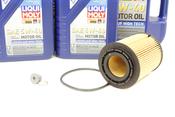 VW Audi Oil Change Kit 5W-40 - Liqui Moly KIT-021115562A.9L