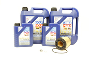 VW Audi Oil Change Kit 5W-40 - Liqui Moly KIT-021115562A.12L