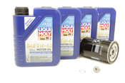 VW Audi Oil Change Kit 5W-40 - Liqui Moly KIT-06A115561B.4L