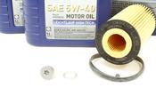 VW Audi Oil Change Kit 5W-40 - Liqui Moly KIT-06D115562.7L
