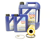 VW Audi Oil Change Kit 5W-40 - Liqui Moly KIT-06E115562C.7L