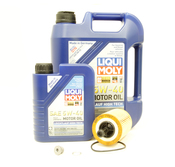 VW Audi Oil Change Kit 5W-40 - Liqui Moly KIT-071115562C.6L