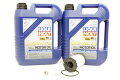 VW Audi Oil Change Kit 5W-40 - Liqui Moly KIT-079198405E.10L